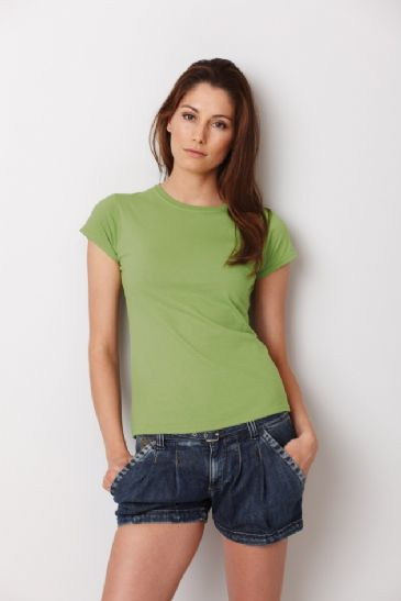 GD72 Ladies Gildan 100% Cotton Fitted Ringspun Soft Style Tshirt